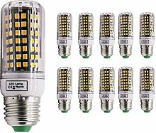 Mengjay® 10 Stück E27 5W 84 * 2835SMD LED lampe