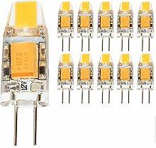 mengjay® 10 Stück G4 1.5W LED Lampen, 130lm,