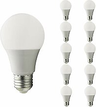 Mengjay® 10 Stück Glühbirne E27 LED, 9W,