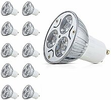 Mengjay® 10 Stück - GU10 LED Lampen 3W GU10
