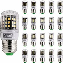 Mengjay® 20 Stück 4W E27 LED lampe Leuchtmittel