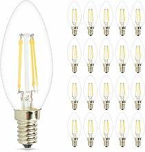 Mengjay® 4W E14 LED Kerze Lampe Strahler