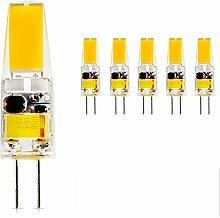 mengjay® 5 Stück - G4 2,5W SMD1x1505 LED Lampen