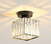 Mengjay Deckenleuchte Moderne Kristall Lampe Flur