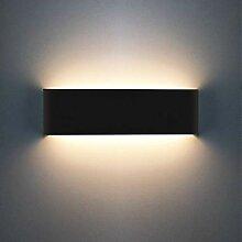 Mengjay Wandleuchte Innen LED 30CM Wandlampe Up