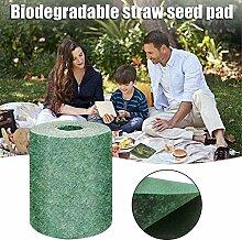 MengJie 2 PCS Biologisch abbaubare Grassamenmatte