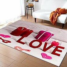 Mengjie Bereich Wohnzimmer Teppich Wohnaccessoires