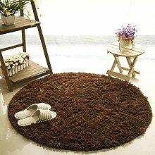 Mengjie Fluffy Round Area Teppich für Moderne
