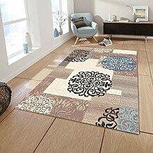 Mengjie Home Designer Teppich Kurzflor Wohnzimmer