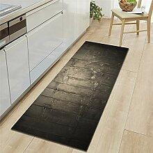 Mengjie Modern Küchenläufer Holzplatte mit