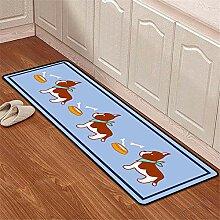 Mengjie Modern Teppich Blue Puppy 4MM Dicke für