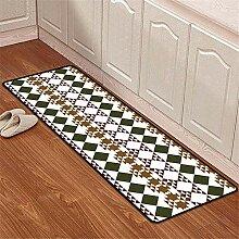 Mengjie Modern Teppich Langes Quadrat mit 6 mm