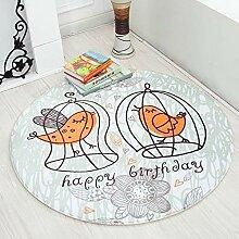 Mengjie Modern Weiche Decke Teppich Jahreszeiten