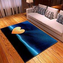 Mengjie Moderner Wohnzimmer Teppich Liebe des