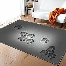 Mengjie Teppich des Wohnzimmerteppichs 3D