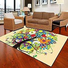 Mengjie Teppich Für Wohnzimmer Weiche Farbige