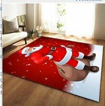 Mengjie Wohnzimmer Teppich für harten Boden