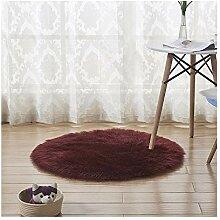 Mengjie Wohnzimmer Teppich Hause Nachahmung Wolle