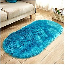 Mengjie Wohnzimmer Teppich super weiche Nachahmung