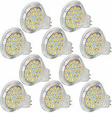 MENGS® 10 Stück AC/DC 12V MR11 LED Lampe 3W