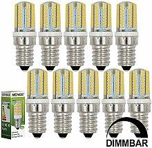 MENGS 10 Stück Dimmbar E14 LED Lampe 3W AC