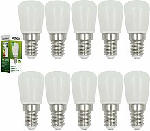 MENGS® 10 Stück E14 4W LED Kühlschrank Birne
