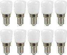 MENGS® 10 Stück E14 LED Lampe 2W AC 220-240V
