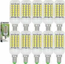 MENGS® 10 Stück E14 LED Lampe 9W AC 220-240V