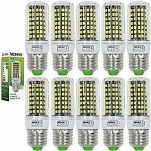 MENGS® 10 Stück E27 LED Lampe 10W AC 220-240V