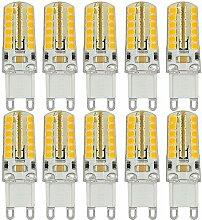 MENGS® 10 Stück G9 LED Lampe 5W AC 220V - 240V