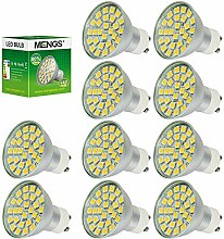 MENGS® 10 Stück GU10 5W LED Rampenlicht Lampe