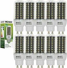 MENGS® 10 Stück GU10 LED Lampe 8W AC 220-240V
