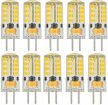 MENGS® 10 Stück GY6.35 3W LED Lampe Warmweiß
