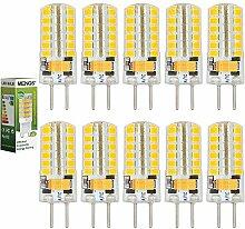 MENGS® 10 Stück GY6.35 4W LED Lampe Kaltweiß