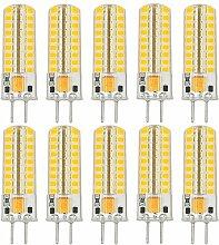 MENGS® 10 Stück GY6.35 5W LED Lampe Warmweiß