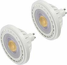 MENGS 2-er Pack GU10 LED ES111 Strahler Lampe 12W