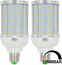 MENGS® 2 Stück Dimmbar E27 LED Lampe 25W AC