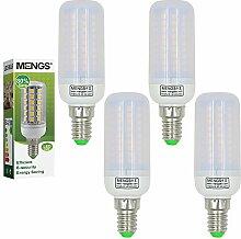 MENGS® 4 Stück E14 LED Lampe 12W AC 220-240V Warmweiß 3000K 102x2835 SMD