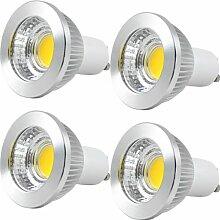 MENGS® 4 Stück GU10 COB LED Lampe 5W AC 85-265V