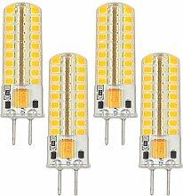 MENGS® 4 Stück GY6.35 5W LED Lampe Warmweiß