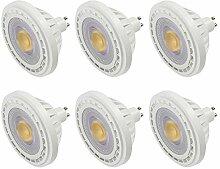 MENGS 6-er Pack GU10 LED ES111 Strahler Lampe 12W