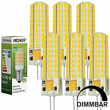 MENGS® 6 Stück Dimmbar G4 LED Lampe 7W AC/DC 12V