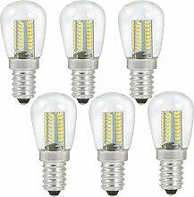 MENGS® 6 Stück E14 3W LED Birne 64x3014 SMD LED