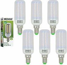 MENGS® 6 Stück E14 LED Lampe 12W AC 220-240V