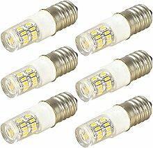 MENGS® 6 Stück E14 LED Lampe 2W AC 220-240V