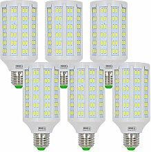 MENGS® 6 Stück E27 LED Lampe 20W Kaltweiß 6500K