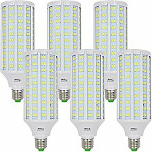 MENGS® 6 Stück E27 LED Lampe 40W Kaltweiß 6500K