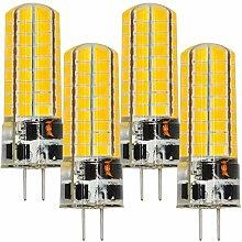 MENGS® 6 Stück G4 6W LED Lampe Warmweiß 3000K