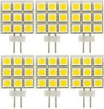 MENGS® 6 Stück G4 LED Lampe 1.5W AC/DC 12V