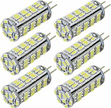 MENGS® 6 Stück G4 LED Lampe 3W AC/DC 12V